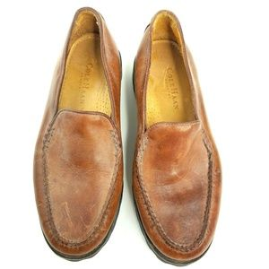 Cole Haan Country Frankie Womens Brown Loafers
